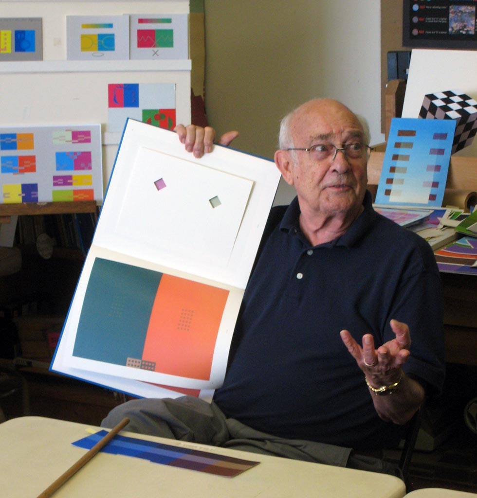 Dick described how his own piece in the Albers book could have been improved