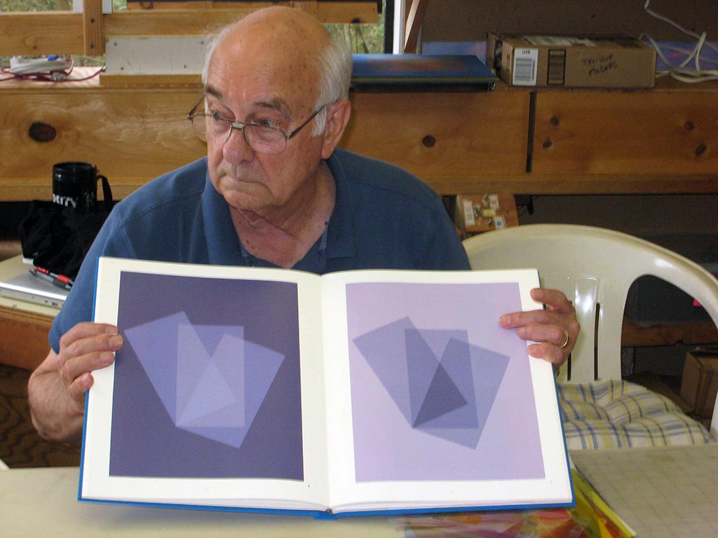 Successful veil and film transparency illusions from the Albers book