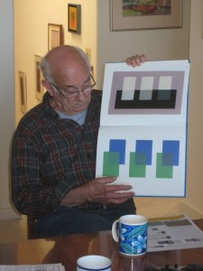 Critiquing a transparency study in the Albers book