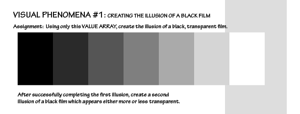 Hands-on exercise: Create an illusion of a transparent black film