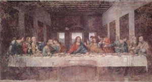 High Renaissance: Leonardo da Vinci - The Last Supper (1495)