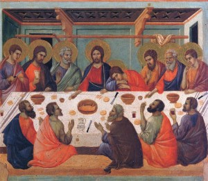 Late Gothic: Duccio - The Last Supper (1311)