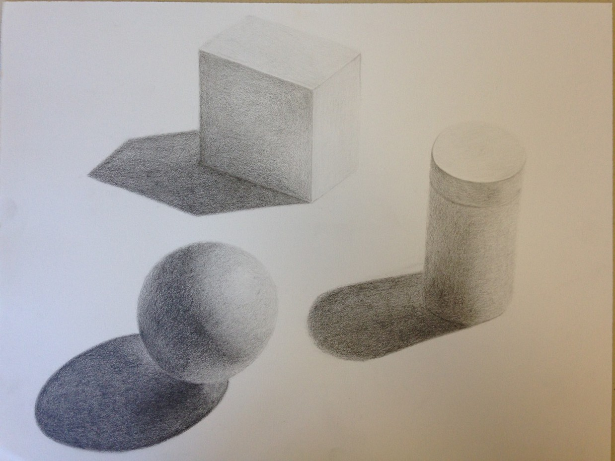 advanced drawing and composition 2016 week 2 | dick nelson color